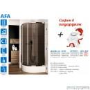 Душова кабіна в наборі Aquaform Afa (90x90)