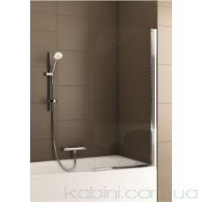 Шторка на ванну Aquaform Modern 1 хром/прозоре