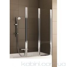 Шторка на ванну Aquaform Modern 3 хром/прозоре