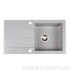 Мийка  гранітна Galati Quadro (78x43)