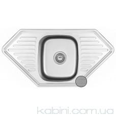 Мийка металева Galati Meduza textura 7137 (95x50)