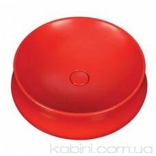 Умивальник червоний Newarc Elipso 505050R 50см