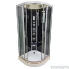 Гідромассажный бокс Veronis BN-5 (100x100x220) чорний