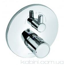 Змішувач для ванни і душа KLUDI Zenta 388300545 з термостатом