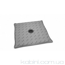 Душова плита Radaway квадратна (1190x1190) з компактним трапом