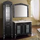 Комплект меблів  Атолл Олександрія 100 Black  фасад класика, камінь