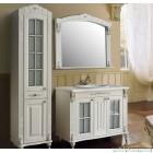 Комплект меблів  Атолл Олександрія 100 Ivory  фасад каннелюри, камінь
