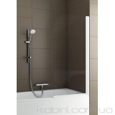 Шторка на ванну Aquaform Modern 1 матовий хром/прозоре
