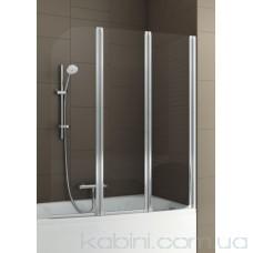 Шторка на ванну Aquaform Modern 3 матовий хром/прозоре