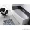 Ванна акрилова асиметрична Aquaform Simi (150x80) ліва
