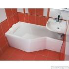 Асиметрична акрилова ванна RAVAK BeHappy (150x75)
