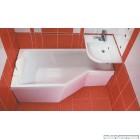 Асиметрична акрилова ванна RAVAK BeHappy (160x75)