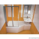 Асиметрична акрилова ванна RAVAK BeHappy (170x75)