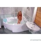 Асиметрична акрилова ванна RAVAK Rosa II (170x105)