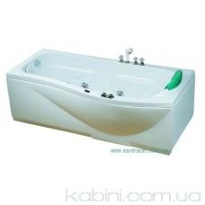 Гідромасажна ванна  CRW CW-1700-2R (170x88x57)
