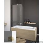 Шторка для ванной Radaway Torrenta PNJ 80 стекло графит левая