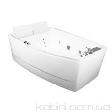 Ванна гідромасажна Volle 12-88-100/L (170x120x63) ліва